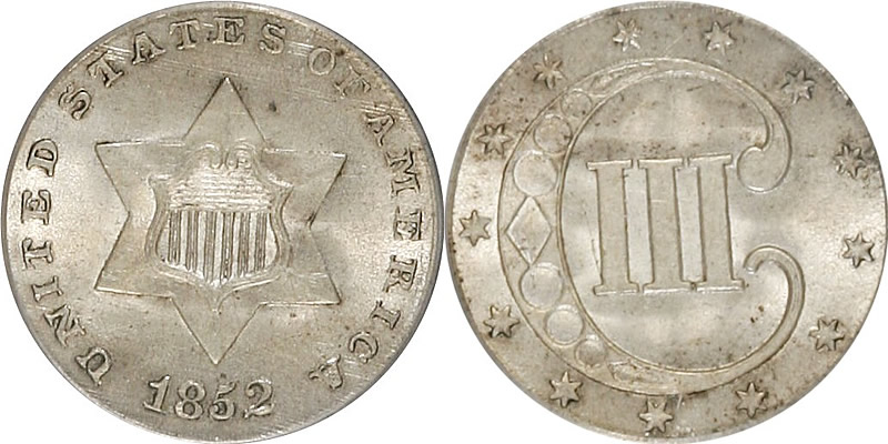 Silver Three Cent Piece