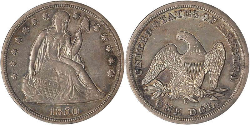 Seated Liberty Dollar