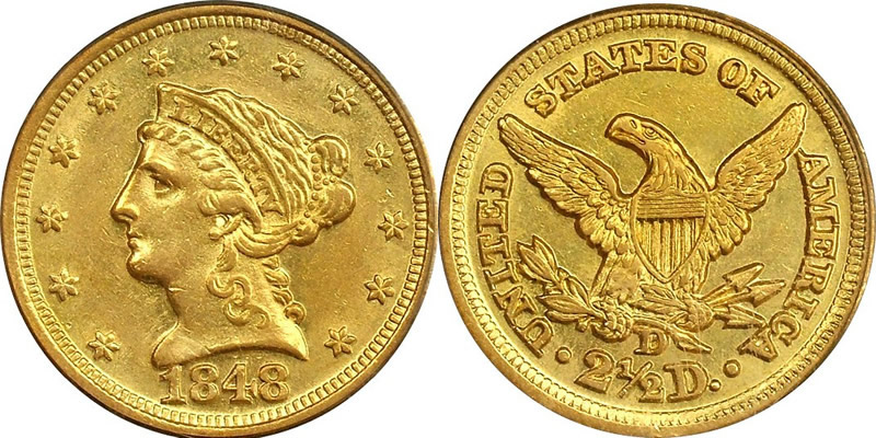 Liberty Head Quarter Eagle