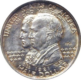 Alabama Centennial Half Dollar Commemorative Obverse