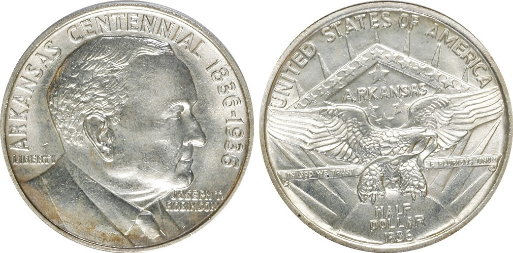 Arkansas-Robinson Half Dollar Commemorative