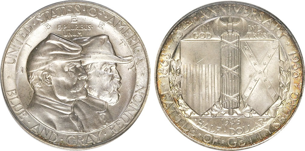 Battle of Gettysburg Half Dollar Commemorative