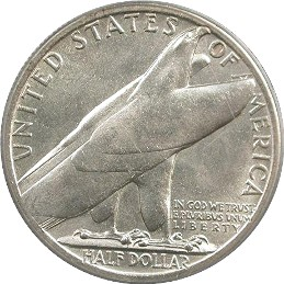 Bridgeport Centennial Half Dollar Commemorative Reverse