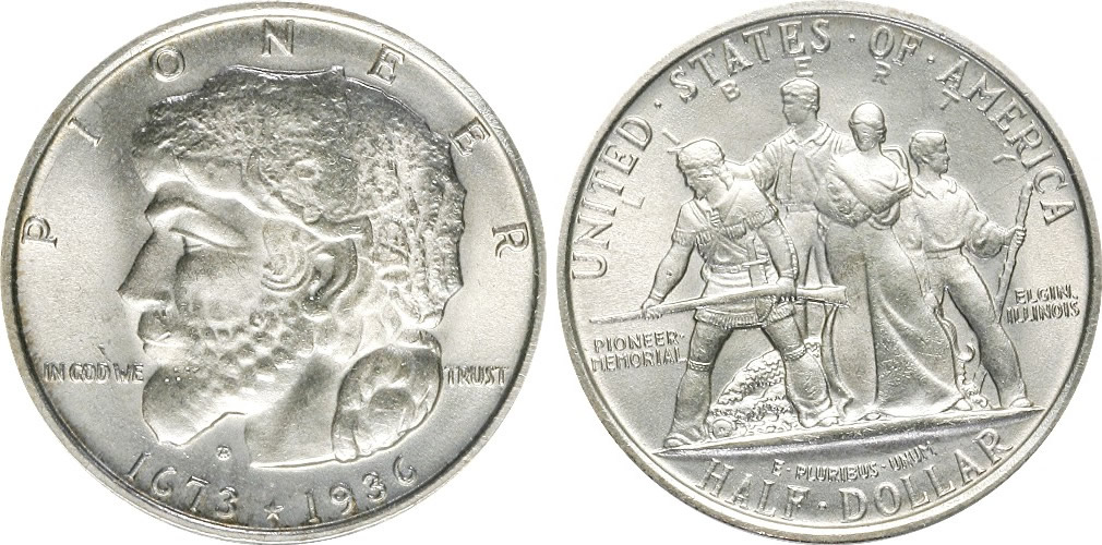 Elgin Centennial Half Dollar Commemorative