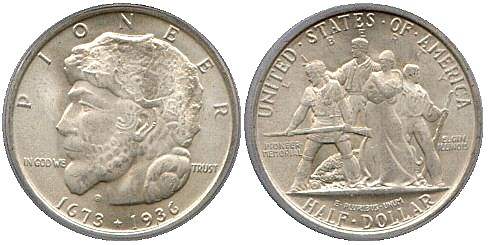 Elgin Centennial Half Dollar Commemorative Obverse and Reverse