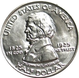 Fort Vancouver Centennial Half Dollar Commemorative Obverse
