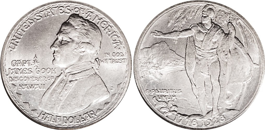 Hawaii Sesquicentennial Half Dollar Commemorative