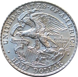 Illinois Centennial Half Dollar Commemorative Reverse