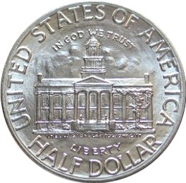Iowa Centennial Half Dollar Commemorative Obverse
