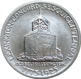 Lexington-Concord Sesquicentennial Half Dollar Commemorative Reverse