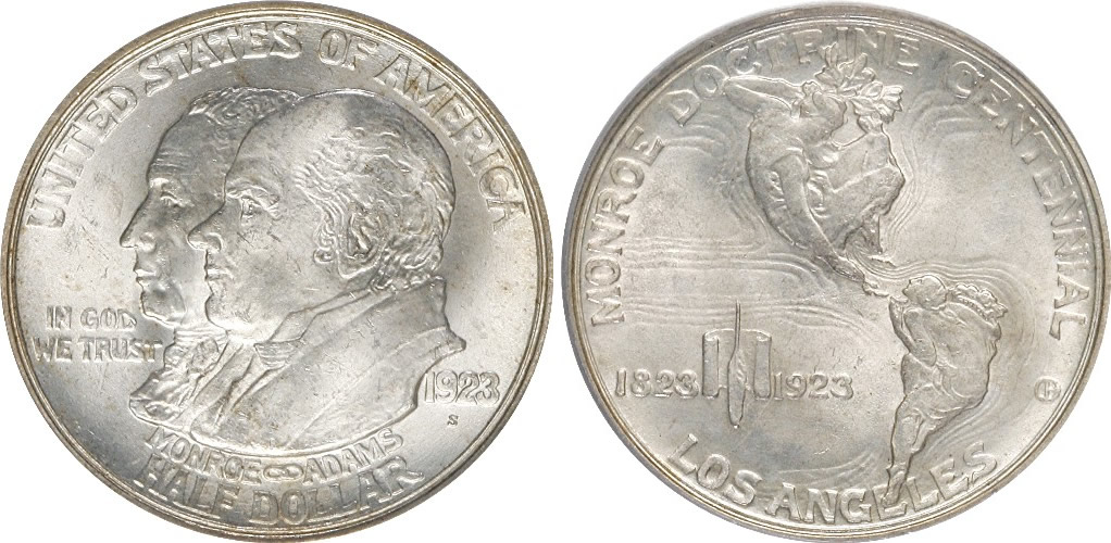 Monroe Doctrine Centennial Half Dollar Commemorative
