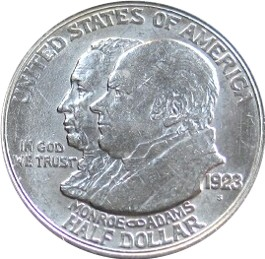 Monroe Doctrine Centennial Half Dollar Commemorative Obverse