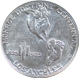 Monroe Doctrine Centennial Half Dollar Commemorative Reverse