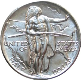 Oregon Trail Memorial Half Dollar Commemorative Obverse