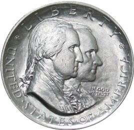 Sesquicentennial of American Independence Half Dollar Commemorative Obverse