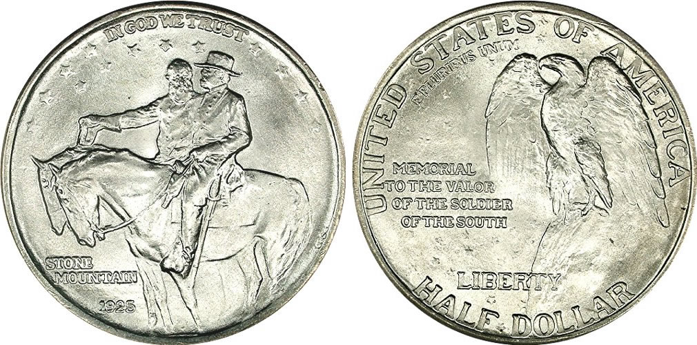 Stone Mountain Memorial Half Dollar Commemorative