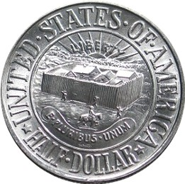 York County Tercentenary Half Dollar Commemorative Obverse
