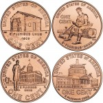 2009 Lincoln Bicentennial Cent Mintages