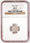 Finest Known 1829 Half Dime Variety Discovered at NGC
