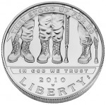 2010 American Veterans Disabled for Life Silver Dollar Available February 25