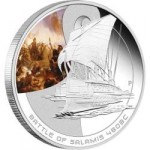 Famous Naval Battles Silver Proof Coin Series - The Battle of Salamis