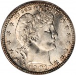 U.S. Coin and Currency Sales Exceed $7 Million, Including Record-setting Sale of 1901-S Barber Quarter