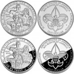 2010 Boy Scouts of America Centennial Silver Dollar Available March 23