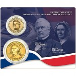 2010 United States Mint Presidential $1 Coin and First Spouse Medal Set, Millard Fillmore Available March 26